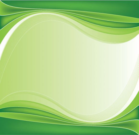 Special Background Vector Image: Green Abstract Background Vector Image Illustration 5