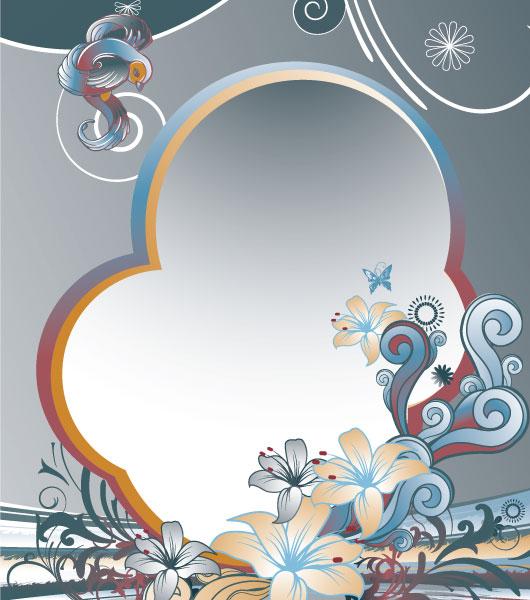 Illustration Vector Design Abstract Floral Background Vector Illustration 5