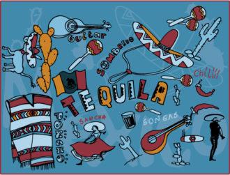 Mexico Doodles Vector Illustration Vector Illustrations vector
