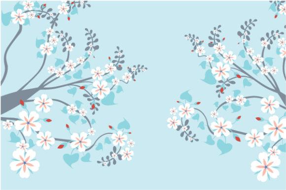 Illustration, Floral-3 Vector Art Vector Retro Floral Illustration 2010 07 22 10105