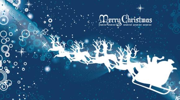 December, Card, Christmas Vector Image Christmas Greeting Card 2010 08 14 1014