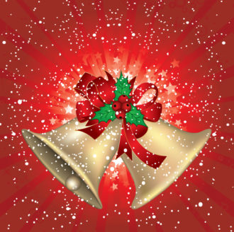 Christmas Greeting Card Vector Illustrations star