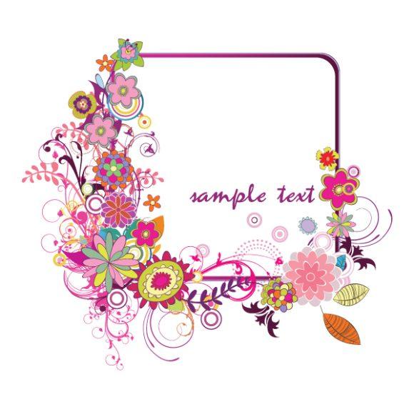 Illustration Vector Art Floral Frame 2010 08 22 1015