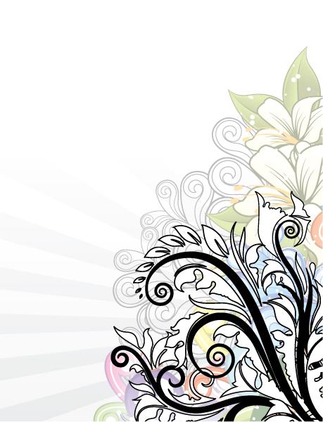 Background, Floral Vector Image Popart Floral Background Vector Illustration 2010 08 28 1021