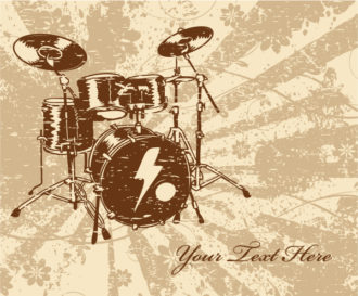 Music Illustration Vector Illustrations old