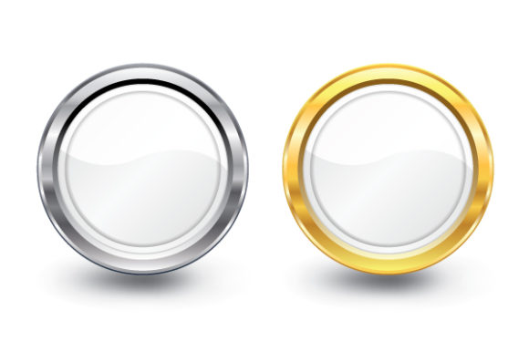 Vector Glossy Button 2010 08 5 106