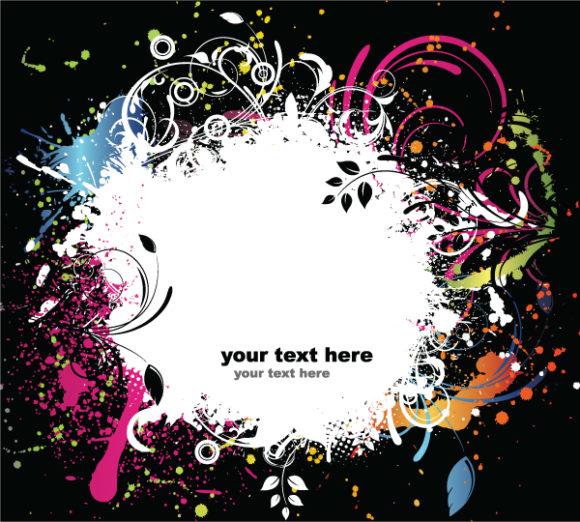 Grunge Vector Background: Grunge Background 2010 08 6 1012