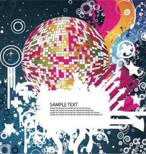 Concert Poster Vector Illustrations star