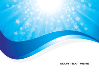 Abstract Background Vector Illustrations star