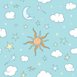 Vector Doodles Seamless Background Vector Illustrations star