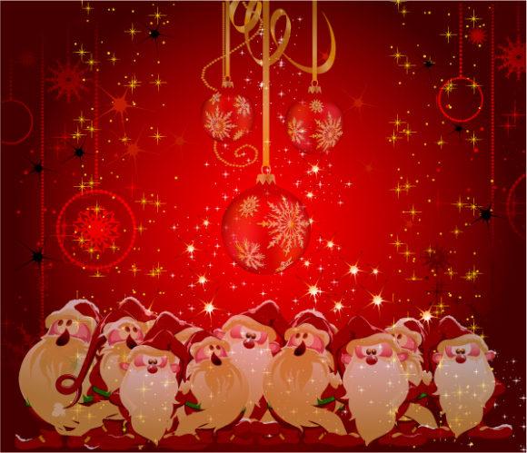 Christmas Greeting Card Vector Illustration 2011 01 28 vi 11