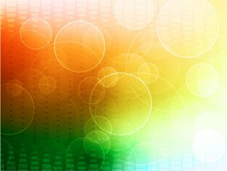 Vector Abstract Background With Circles Vector Illustrations vector