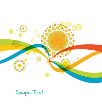 Abstract Colorful Background Vector Illustration Vector Illustrations wave