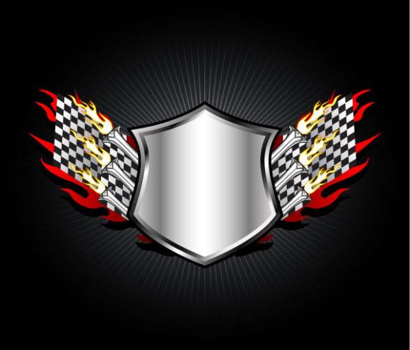 Vector Vector Graphic Racing Emblem Vector Illustration 2011 02 17 m 4
