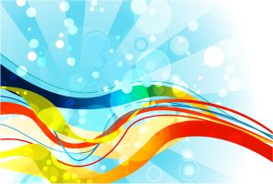 Vector Abstract Background With Waves Vector Illustrations vector