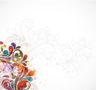 Colorful Swirls Background Vector Illustration Vector Illustrations vector
