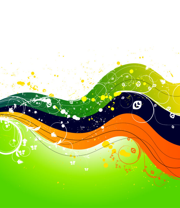 Wave, Background, Abstract Vector Graphic Vector Abstract Background With Wave 2011 03 12 ga 4