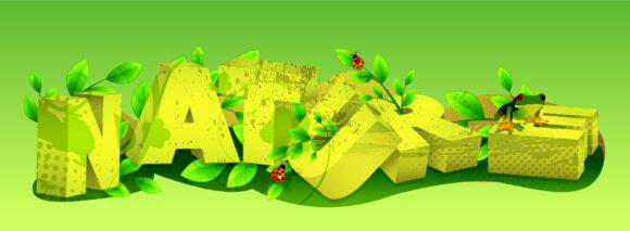 Nature, Vector, Creative, Frog Vector Illustration Nature 3d Text Vector Illustration 2011 03 13 ha 15