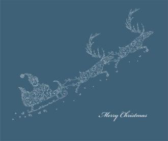 Christmas Background Vector Illustration Vector Illustrations floral