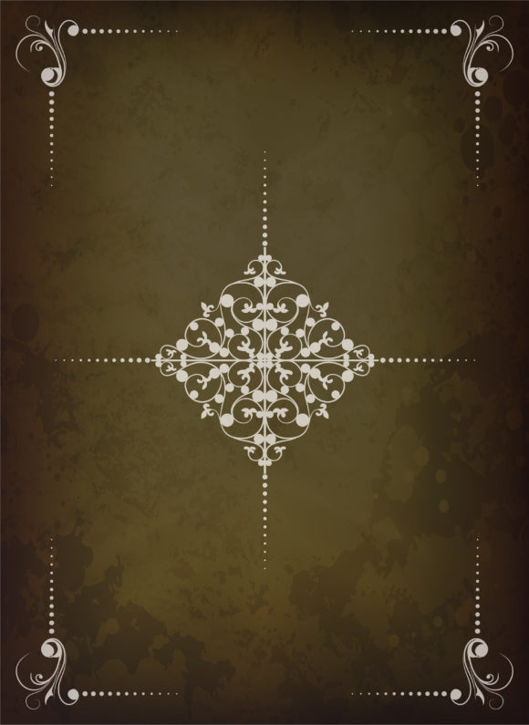 Background Vector Graphic: Vintage Background Vector Graphic Illustration 1