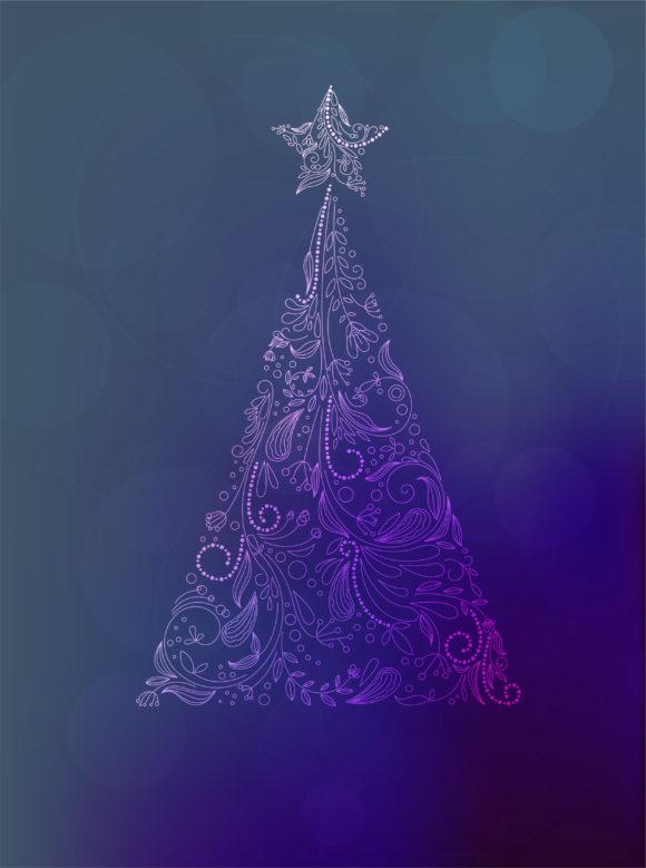 Card, Illustration Eps Vector Christmas Greeting Card Vector Illustration 1
