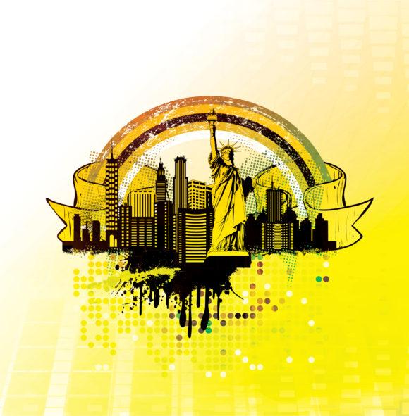 Urban Background Vector Illustration 2011 04 30 kc 14