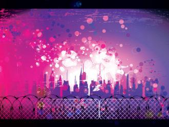 Urban Background Vector Illustration Vector Illustrations star