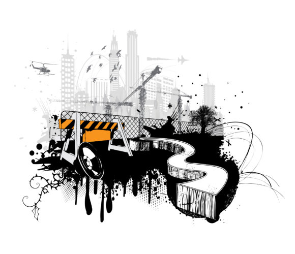 Urban Background Vector Illustration 2011 04 30 kc 2