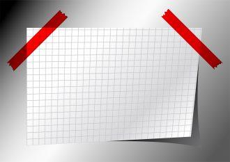 Note Paper Vector Illustration Vector Illustrations vector