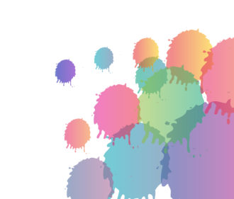 Colorful Splashes Background Vector Illustration Vector Illustrations vector