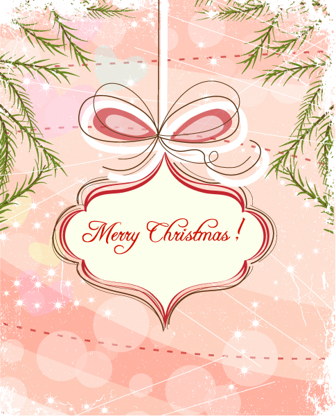 Insane Vector Vector Art: Christmas Background Vector Art Illustration 1