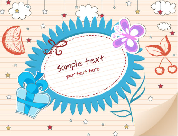 Abstract-2, Vector Eps Vector Abstract Frame Vector Illustration 1