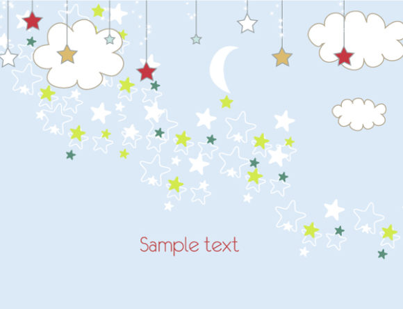 Download Greeting Vector Background: Vector Background Christmas Greeting Card 1