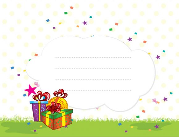 Awesome Stars Vector Illustration: Presents With Stars Vector Illustration Illustration 1