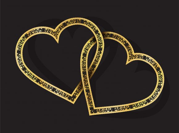 Vector Valentines Background With Hearts 22 12 2010 61