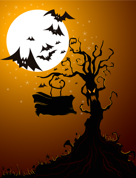 Halloween Vector Background Halloween Background Vector Illustration 5