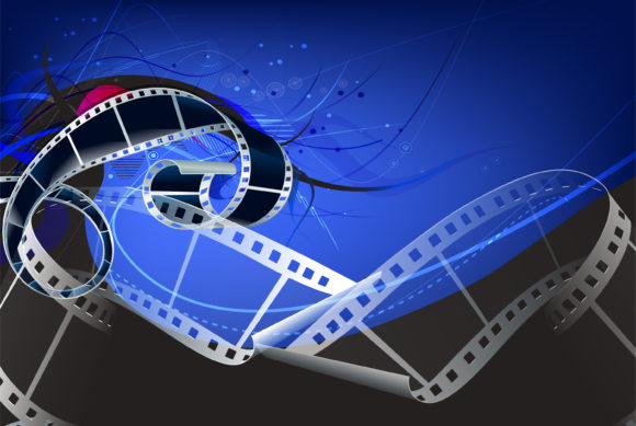 Abstract Film Strip Vector Illustration 24 02 2011 11