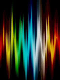 Colorful Wave Vector Illustration Vector Illustrations wave