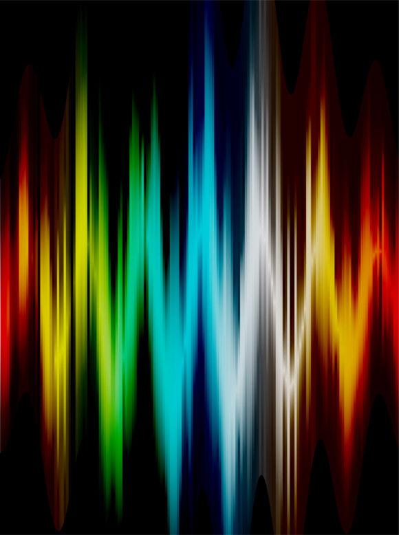 Illustration Vector: Colorful Wave Vector Illustration 1