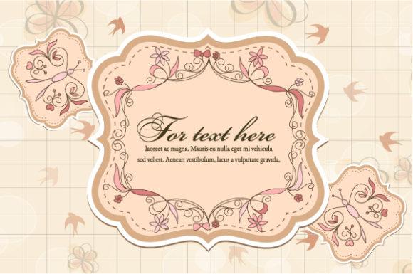 Spring Frame Vector Illustration 24 10 2011 102