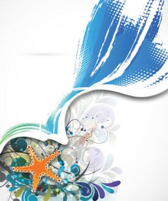 Summer Background Vector Illustration Vector Illustrations star
