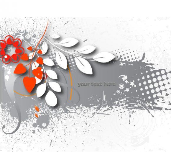 Creative Vector Image: Grunge Background Vector Image Illustation 1