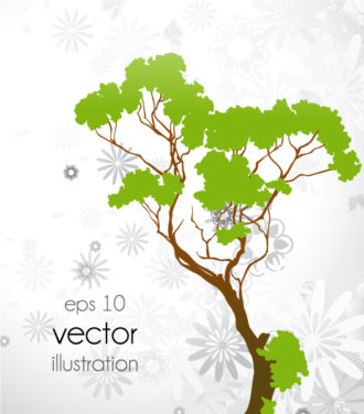 Abstract Tree Vector Illustration Vector Illustrations tree