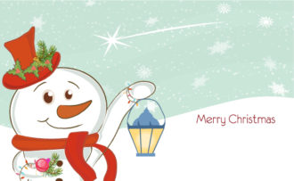 Vector Colorful Christmas Background Vector Illustrations vector