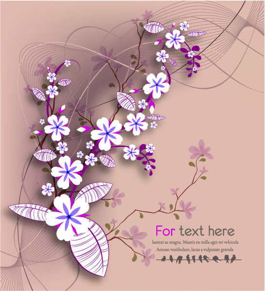 Abstract Vector Artwork Vector Abstract Floral Background 5