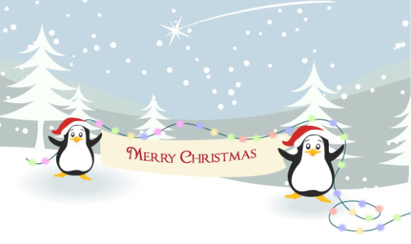 New Christmas Vector Graphic: Vector Graphic Christmas Greeting Card 30 9 2011 112