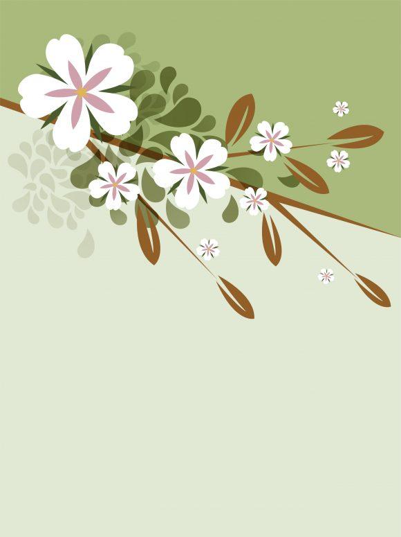 Floral Eps Vector Vector Spring Floral Background 5