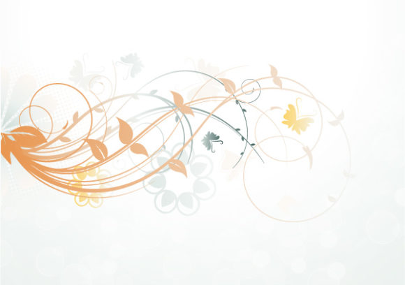 Vector Vector Vector Abstract Floral Background 5