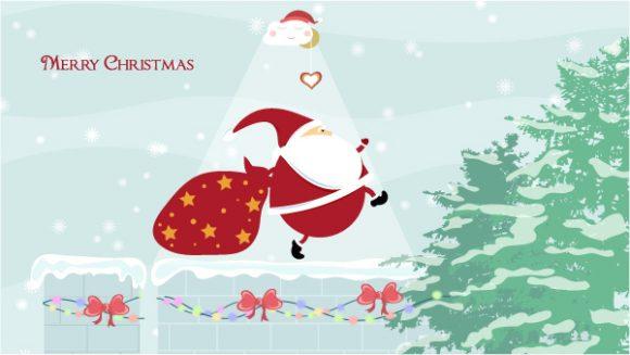 Vector, Christmas, Card Vector Artwork Vector Christmas Greeting Card 4 10 2011 102