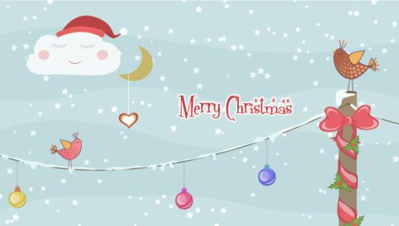 Vector Christmas Greeting Card 4 10 2011 103